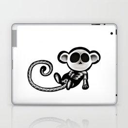 Skeleton monkey Laptop & iPad Skin