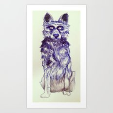 Empty Eyes Art Print