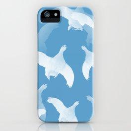 White Birds Against The Blue Sky #decor #society6 #homedecor iPhone Case