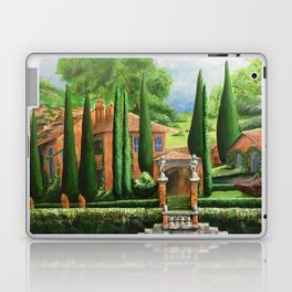 Villa of Lago d' Como Laptop & iPad Skin
