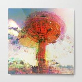 Cosmic Swing Metal Print