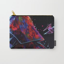Darth Vader Pop Art - TIE Fighter - X-Wing - Death Star Abstract Carry-All Pouch