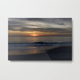 Sunset in California Metal Print