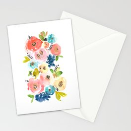 Floral POP #2 Stationery Cards