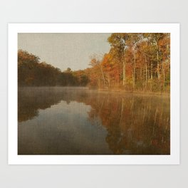 Mirrored Beauty Art Print