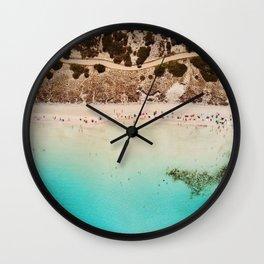 Island Beach II Wall Clock