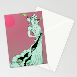 A Kiss with an Audience Stationery Cards