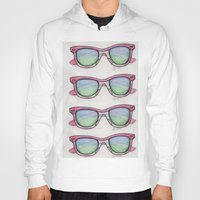 sunglasses Hoodies featuring Sunglasses. by Alexis Pilato