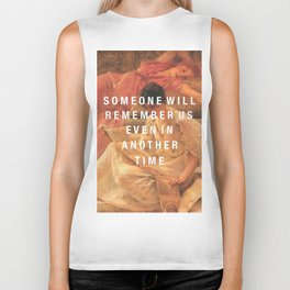 someone will remember us Biker Tank