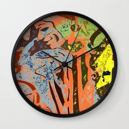 Court Jester #1b Wall Clock