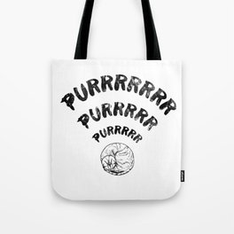 The Purrfect Connection Tote Bag