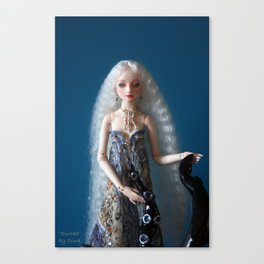 Resin Enchanted Doll 'Surrea' Canvas Print