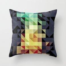 :: geometric maze IV :: Throw Pillow