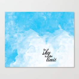 The Sky is the Limit Canvas Print