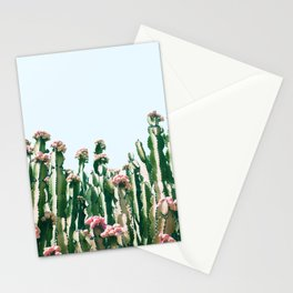 Blush Cactus #society6 #decor #buyart Stationery Cards