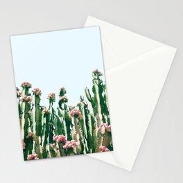 Blush Cactus #society6 #decor #buyart Stationery Cards