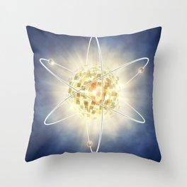 Nuclear power Throw Pillow