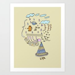 Dream Jelly Art Print