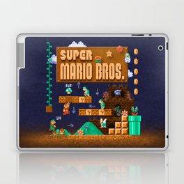 Mario Super Bros Laptop & iPad Skin