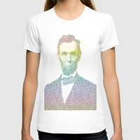 lincoln T-shirts featuring Lincoln by aaronleeharris