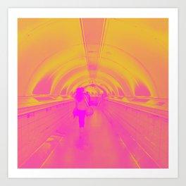 Underground Sunrise Art Print