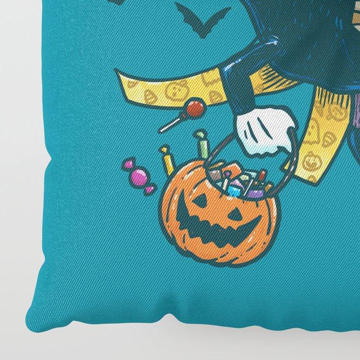 Pancake Floor Pillows: Spooky Pancake Floor Pillow By Nickv47