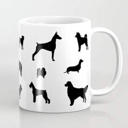 DOGS Silhouette Coffee Mug