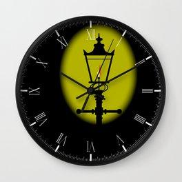 Gaslight Wall Clock
