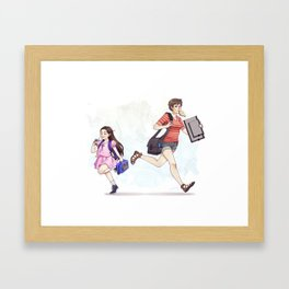 Academic Evolution Framed Art Print