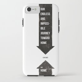 Endless Journey Home iPhone Case