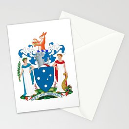 Coat of Arms of Victoria  Stationery Cards