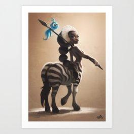 Savannah Centaure Art Print