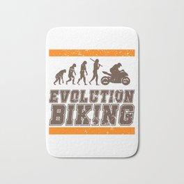 Evolution Biking   Motorcycle Street Speed Bath Mat