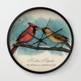 Northern Nitpicker - Maxilla Cardinalis Wall Clock