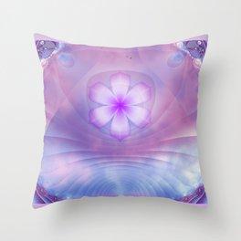 Peaceful Contemplation Throw Pillow