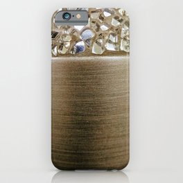Gold Iridescence and Mirrors iPhone Case