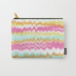 Candy Colored Sound Waves Carry-All Pouch