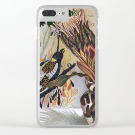 French Dream Clear iPhone Case