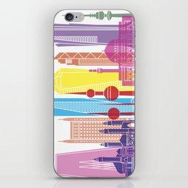 Kuwait V2 skyline pop iPhone Skin