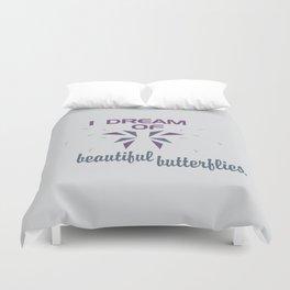 Beautful Butterflies Duvet Cover