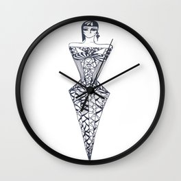 diamonds are forever Wall Clock