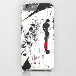Abstract Modern Ink painting iPhone Case