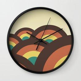 Foothills 70 Wall Clock