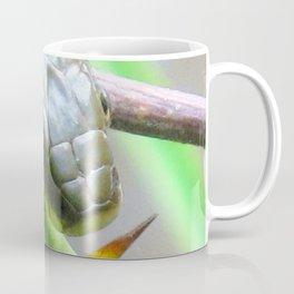 Watercolor Snake, Queen Snake 03, Eno River, North Carolina, Don't Get Poked! Coffee Mug