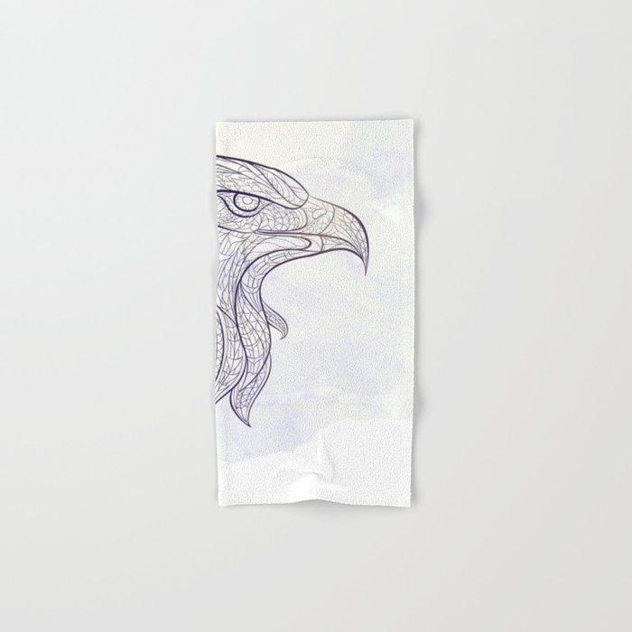 Ethnic Eagle Hand & Bath Towel