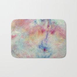 Tye Dye Kaleidoscope Sunset Bath Mat