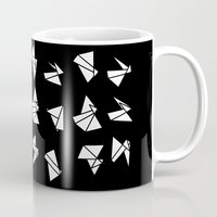 origami Mugs featuring origami by spinL