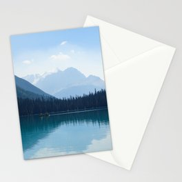 Afternoon on Emerald Lake Stationery Cards