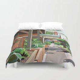 Cactus Cafe Duvet Cover