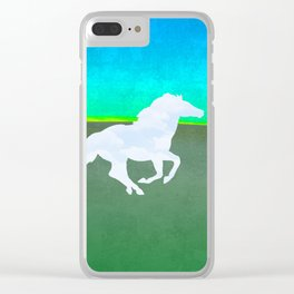 The flight of the enchanted horse Clear iPhone Case